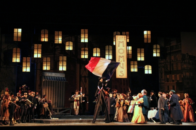 Seattle Opera production of Giacomo Puccini's La Bohéme.